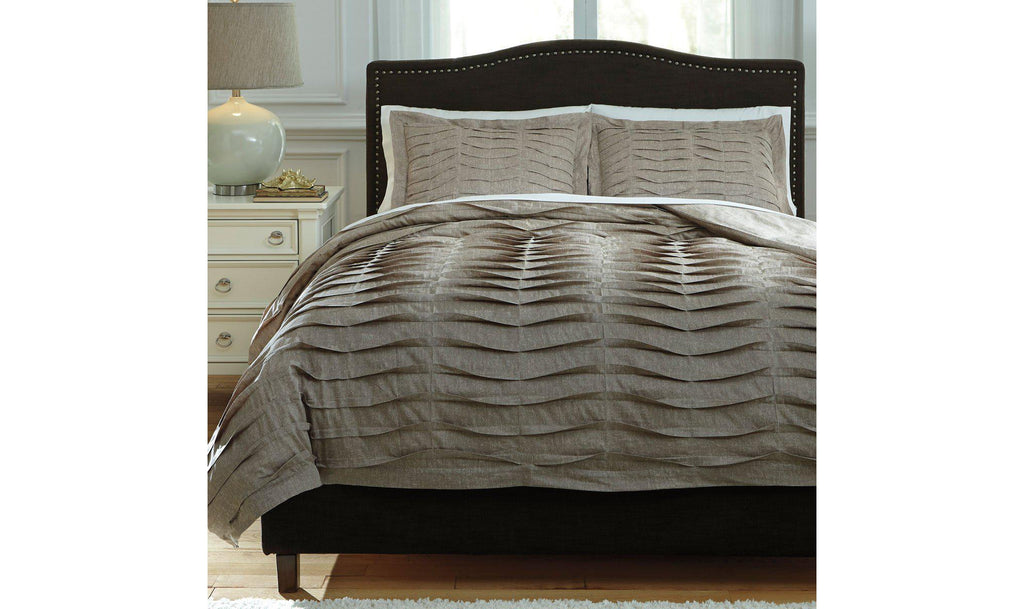 Voltos Duvet Cover Set-Jennifer Furniture