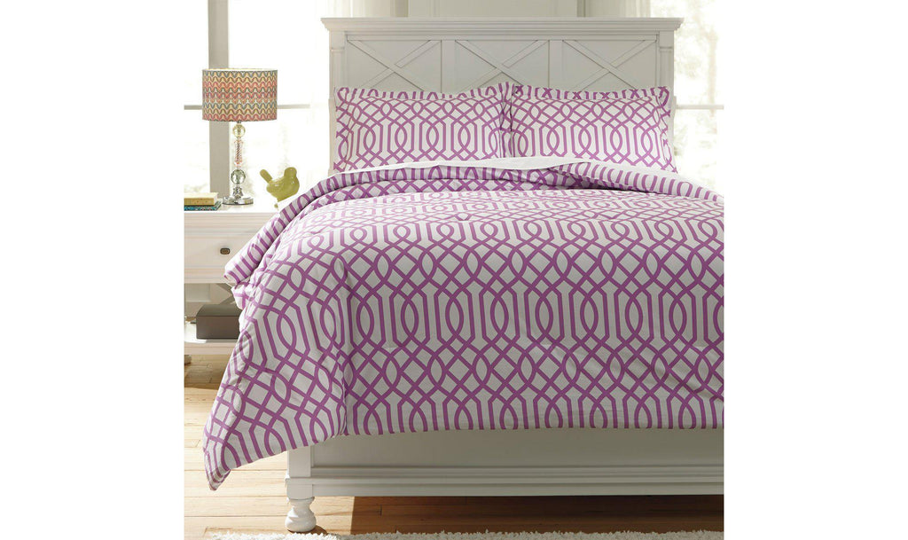 Loomis Comforter Set-Jennifer Furniture