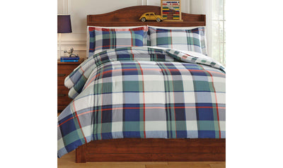 Mannan Comforter Set-Jennifer Furniture