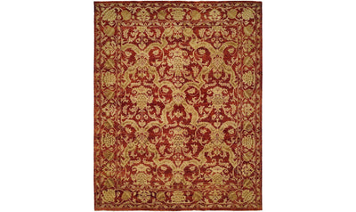 Royal Manner Estates Rug-rugs-Kalaty-12' x 15'-Red-Jennifer Furniture