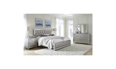 Giancarlo Bed-beds-Global-Full-Silver-Jennifer Furniture