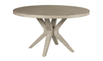 WEST FORK HARDY ROUND DINING TABLE COMPLETE-dining tables-American Drew-Jennifer Furniture