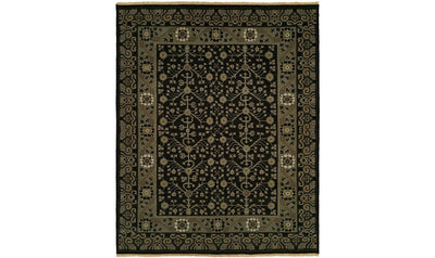 Soumak Natural Rug-rugs-Kalaty-10' x 14'-Onyx-Jennifer Furniture