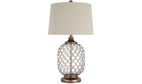 TABLE LAMP (ANTIQUE SILVER)