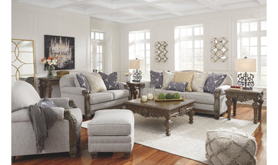 Sylewood Living Room Set-living room sets-Ashley-Sofa + Loveseat + Chair + Ottoman-Jennifer Furniture