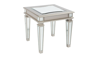 Tessani Rectangular End Table-Jennifer Furniture