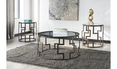 Frostine Occasional Table Set (3/CN)-Jennifer Furniture