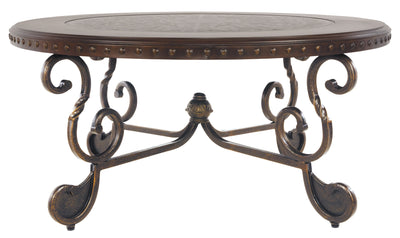 Rafferty Round Cocktail Table-end tables-Ashley-Jennifer Furniture