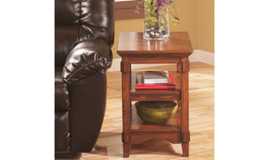 Cross Island Chairside End Table-Jennifer Furniture