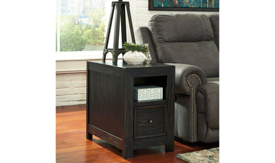 Gavelston Chairside End Table-Jennifer Furniture