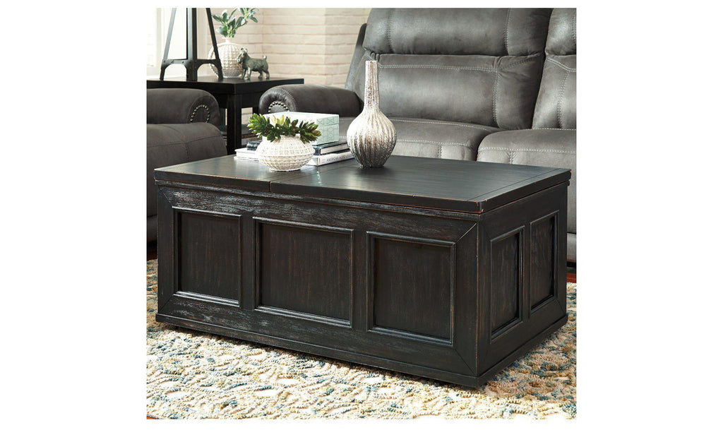 Gavelston Lift Top Coffee Table-Jennifer Furniture