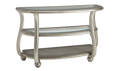 Coralayne Sofa Table-cocktail tables-Ashley-Jennifer Furniture