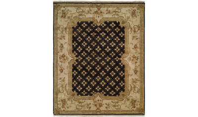 Tuscany Rug-rugs-Kalaty-10' x 14'-Black-Jennifer Furniture