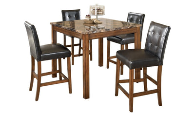 Theo Square Counter Table Set-dining sets-Ashley-Jennifer Furniture