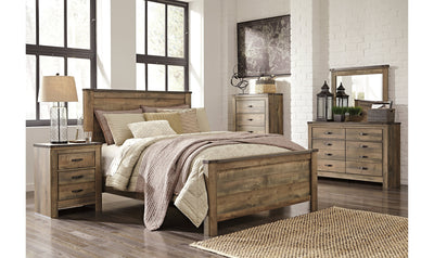 Trinell Queen-Size Bedroom Set-bedroom sets-Ashley-Bed + Nightstand + Dresser-Youth Dresser-Jennifer Furniture