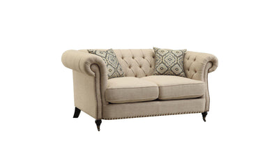 Trivellato Loveseat-Jennifer Furniture
