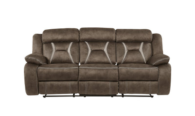 Olle Reclining Sofa-Jennifer Furniture