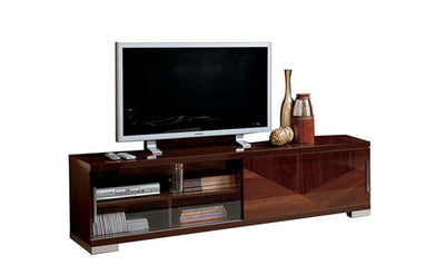 Capri TV Base-tv units-ESF-Walnut Brown-Jennifer Furniture