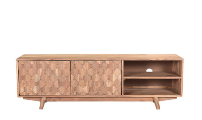 Honeycomb Entertainment Unit-tv stands-Modarte-Jennifer Furniture