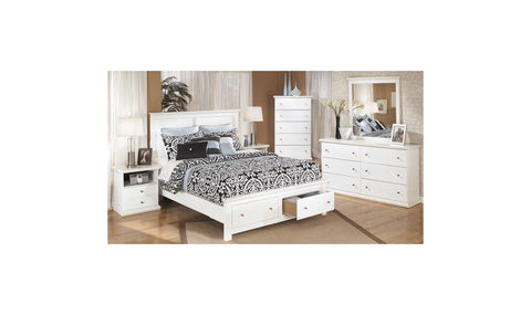 Precision Upholstered Storage Bedroom Set