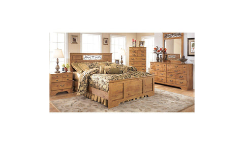 Magnolia Manor Upholstered Bed Set Deal