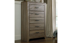 Zachary Five Drawer Chest-Jennifer Furniture