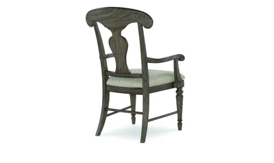 Brookhaven Splat Back Arm Chair-arm chairs-Legacy Classic Furniture-Jennifer Furniture