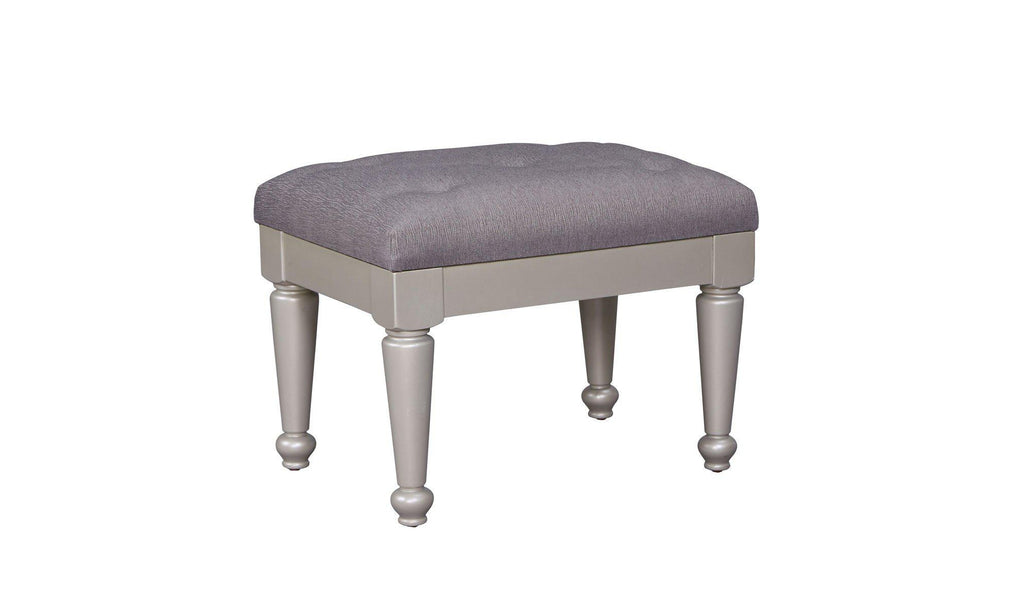 Sparkle Upholstered Stool PAIR-Jennifer Furniture