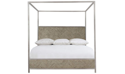 Milo Canopy King Bed-beds-Bernhardt-Jennifer Furniture