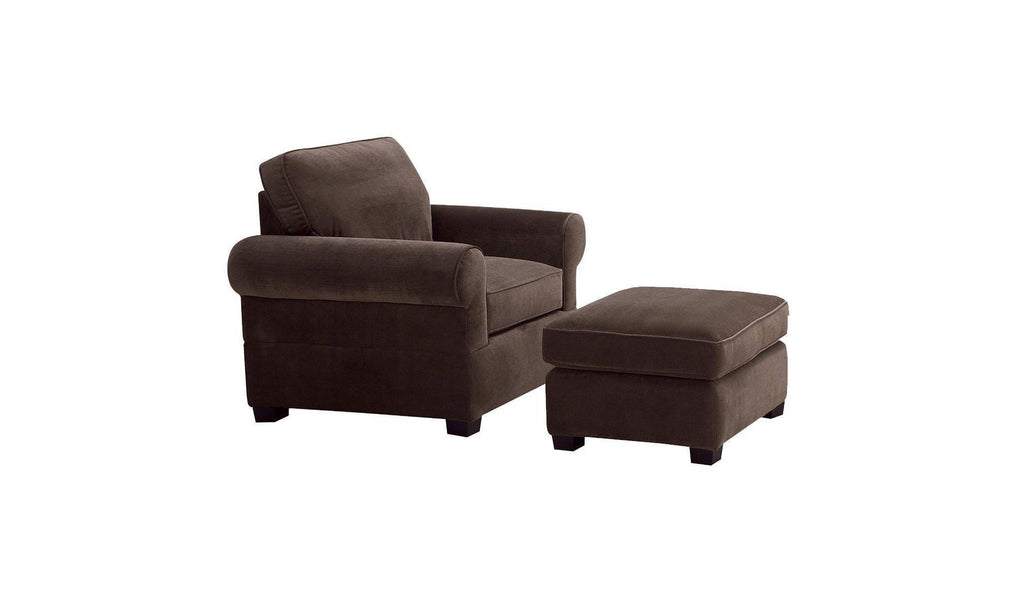 Bucco Sofa Chair & Ottoman