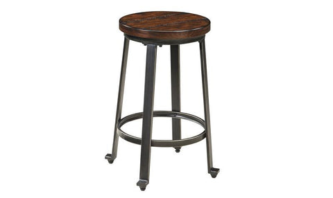 Selena ADJUSTABLE BAR STOOL PAIR