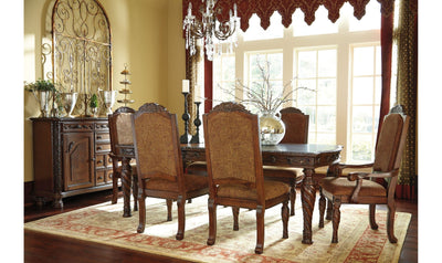 North Shore Rectangular Dining Room Set-dining sets-Ashley-Table + 4 Side Chairs-Jennifer Furniture