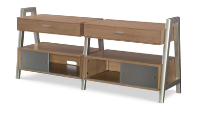 Hygge by Rachael Ray Entertainment Center-tv units-Legacy Classic Furniture-Jennifer Furniture