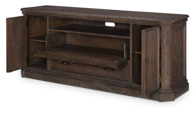 Refined Rustic by Rachael Ray Entertainment Console-tv units-Legacy Classic Furniture-Jennifer Furniture