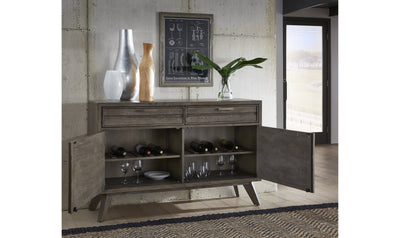 Greystone Credenza-buffets-Legacy Classic Furniture-Jennifer Furniture