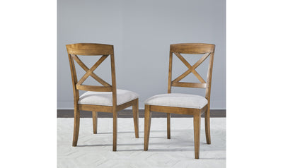 Highland X Back Side Chair-side chairs-Legacy Classic Furniture-Jennifer Furniture