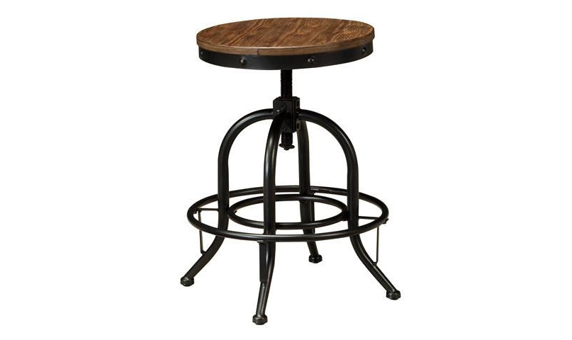 Paloma Swivel Stools / 2 pc-Jennifer Furniture