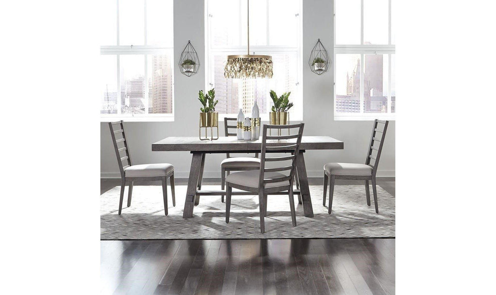 Modern Farmhouse 5 Piece Dining Set