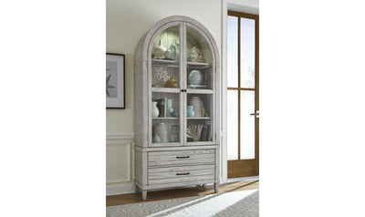Belhaven Display Cabinet-cabinets-Legacy Classic Furniture-Jennifer Furniture