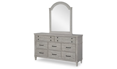 Arched Dresser Mirror-dressers-Legacy Classic Furniture-Jennifer Furniture