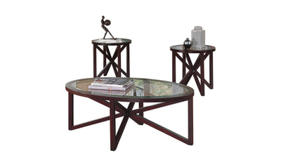 Sleffine Coffee Table Set-Jennifer Furniture