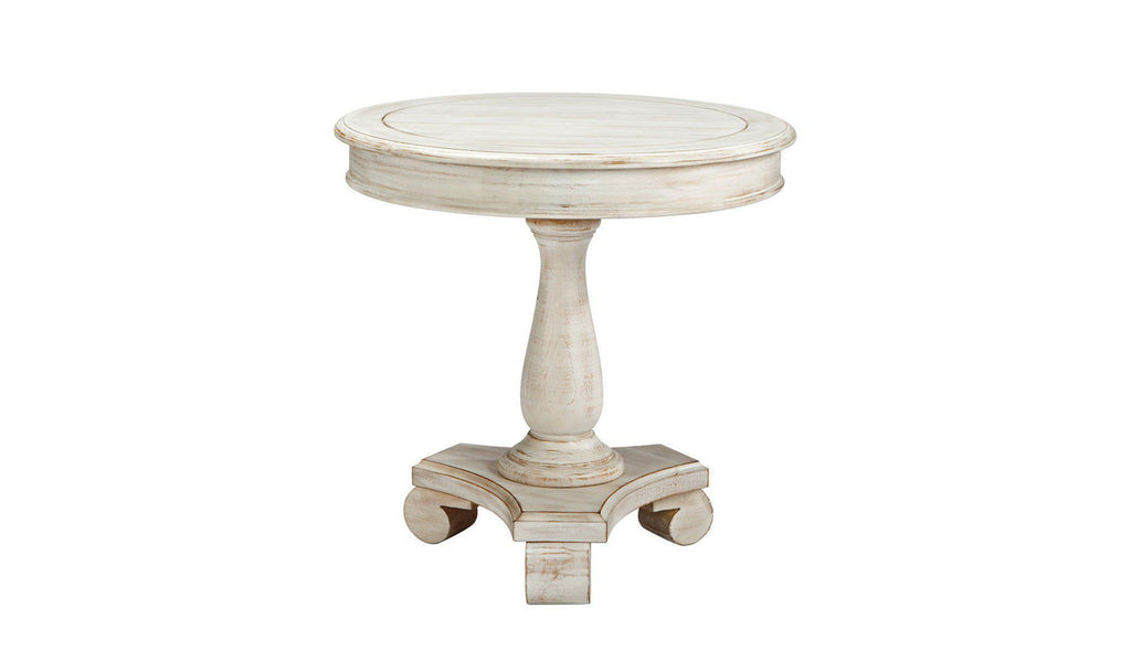 Cottage Accents Round End Table-Jennifer Furniture