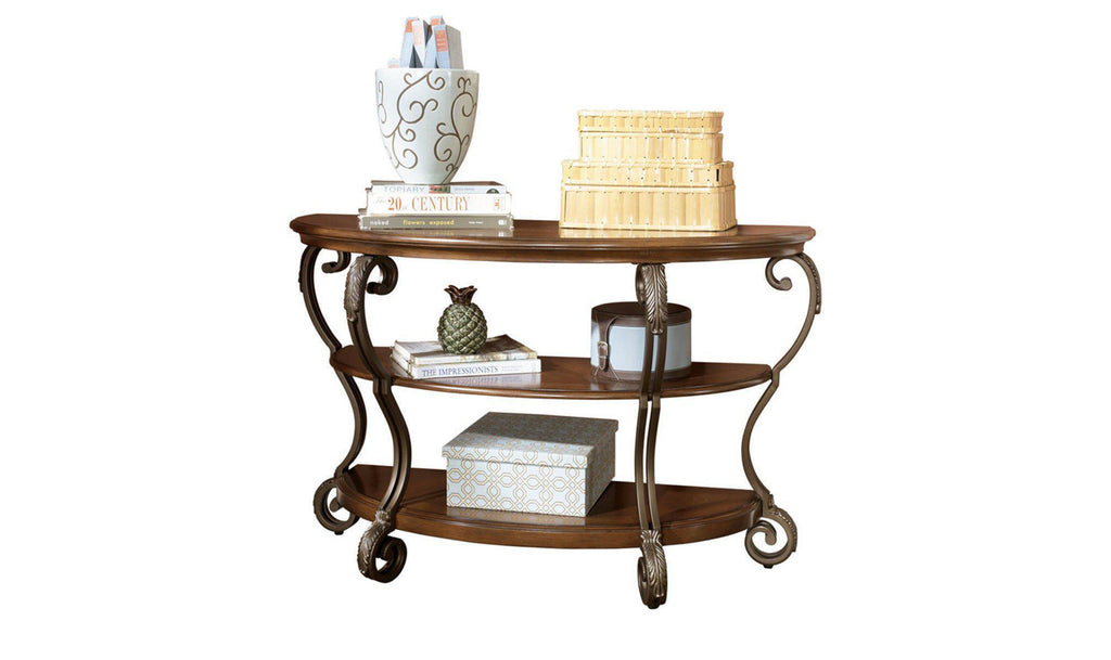 Nestor Console Table-Jennifer Furniture