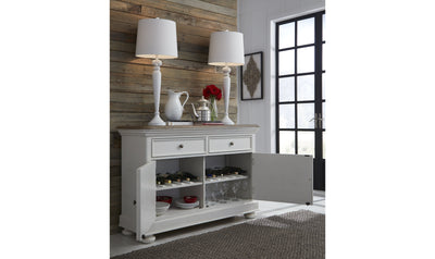 Farmdale Credenza-buffets-Legacy Classic Furniture-Jennifer Furniture