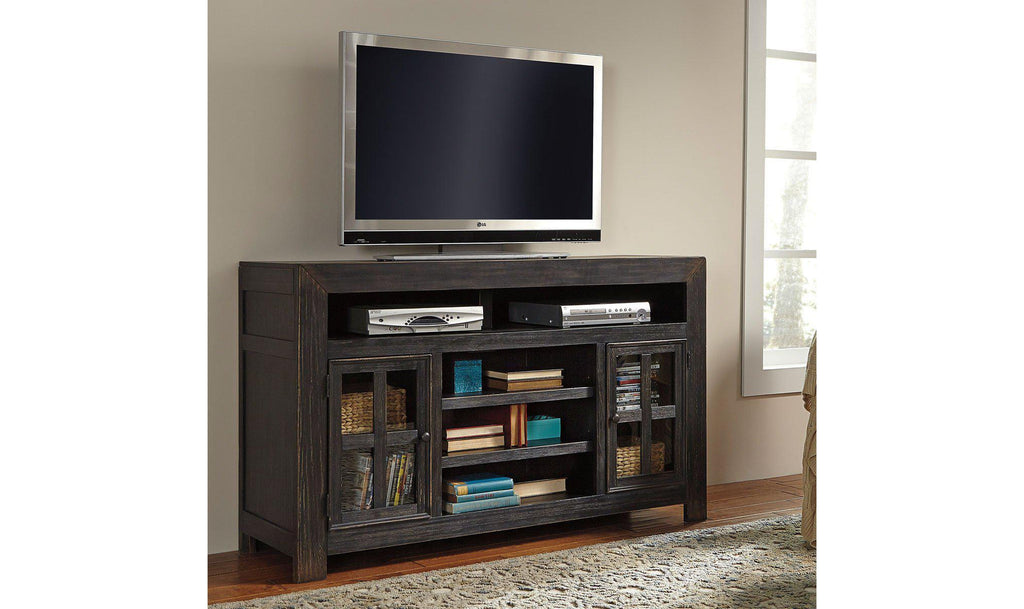 Wooden Black T.V stands