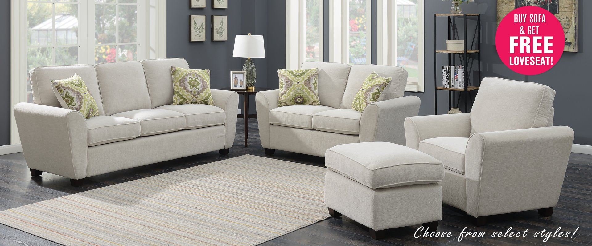 Sectionals starting at $869.99