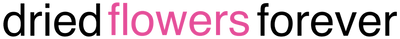 dried flowers forever logo