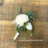 Dried & Preserved Flower Corsage - Royal Wedding Collection