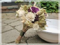 Dried Flower Wedding Collection - Purple Woodland