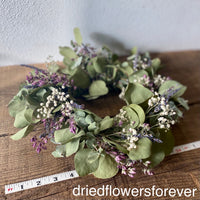 Dried Eucalyptus & Lavender Wreath
